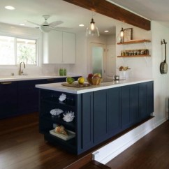 Kitchen Remodel Hawaii Repair Cabinets Great Designs Of Homesfeed Eclectic Hawaiian Idea Blue Navy Island With White Surface Subway Tiles Backsplash Wooden Open