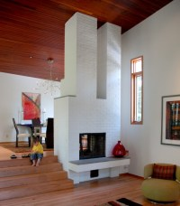 30 Ideas of Stylish White Brick Fireplace | HomesFeed