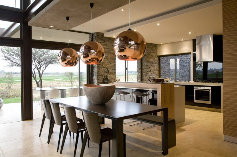 noir dining chairs vintage oak kitchen and room: best solution for achieving space-efficient | homesfeed