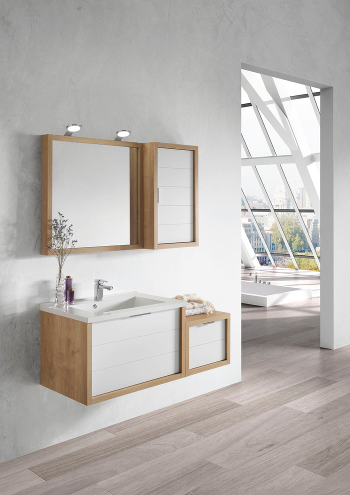 Large Bathroom Mirror Frame Stylish And Space-efficient Bathroom Vanity Cabinet Ideas