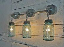 creative mason jar exterior light fixtures