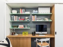 modern and expensive home office hardwood working desk lightweight steel shelves wood working chair