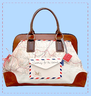 Paper planes bag, £54.99, Cloth Ears