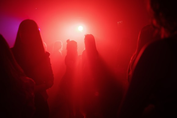 My First London Party - Red atmosphere