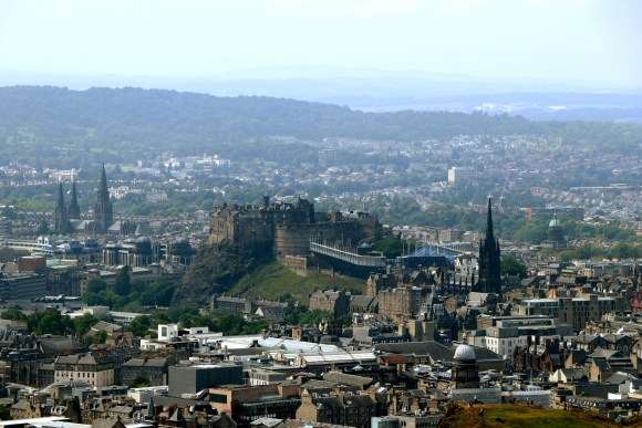 Edinburgh and Castle - Scotland