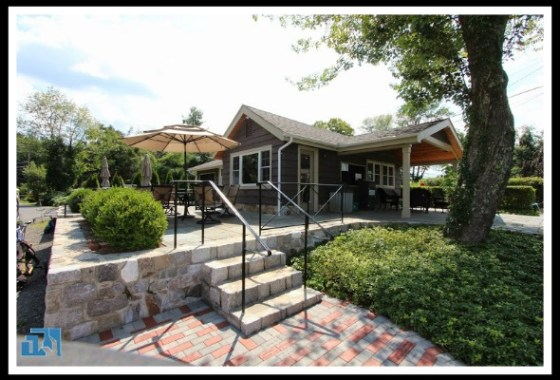 The lake view of this Brookfield home for sales club house is supreb.