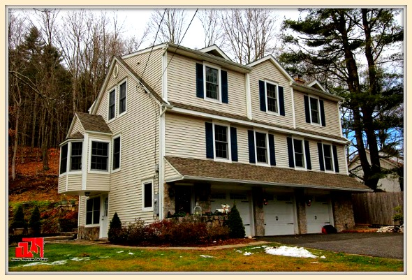 You will surely love the gorgeous nature views in this colonial home for sale in Washington CT.