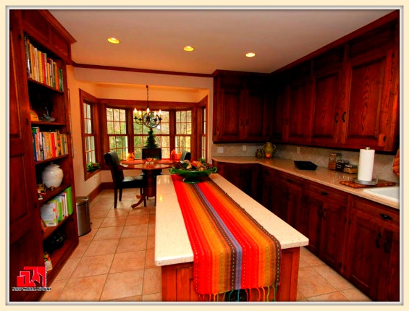 This colonial Washington CT home for sale boasts of a spacious eat-in kitchen designed to satisfy your inner chef.