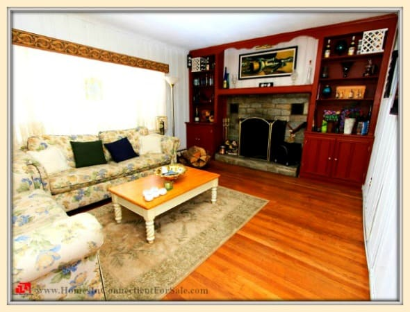 A classy elegant living room awaits you in this wonderful Holiday Point home for sale.