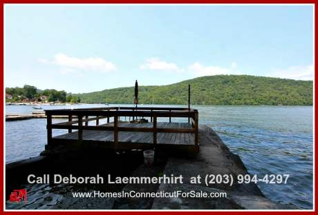 The waterfront features of this Candlewood Lake home is surely beyond any description! It's a must-see!