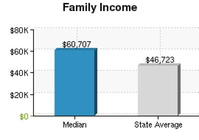 FAMILY INCOME GRAPH