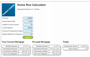 Mortgage Pay Off Calculator