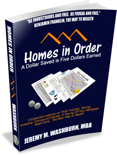 Homes in Order Paperback Cover