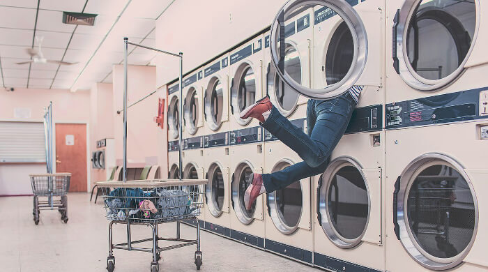 Renters won't miss going to the laundry mat.