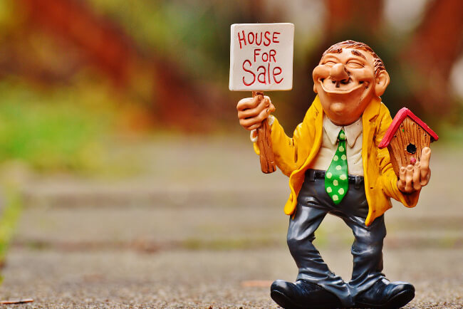Realtors can make your home price to high.
