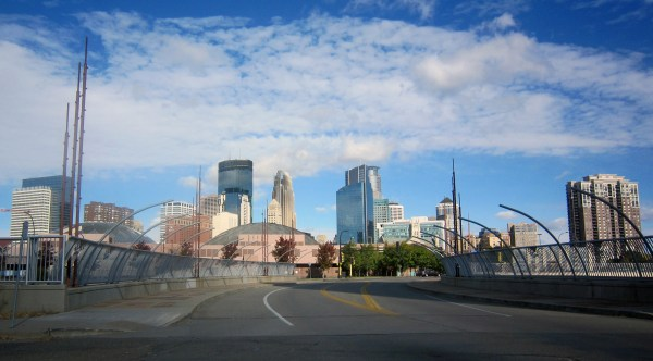 Frank Lloyd Wright-inspired Bridge Links Downtown