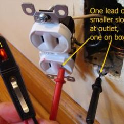 3 Prong Plug Wiring Diagram S Plan Plus Honeywell Converting Two Outlets Testing For Ground On A Outlet