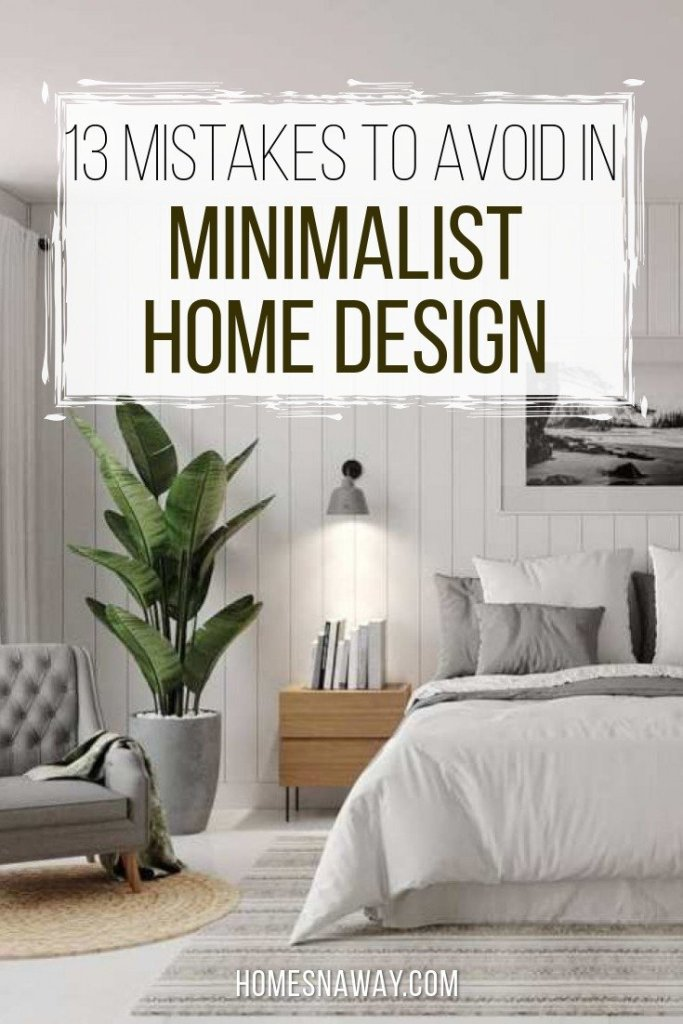 13 Mistakes Most People Make In Minimalist Design & How To Fix Them