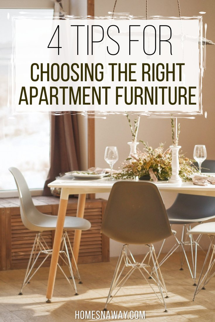 Choosing The Right Furniture For An Apartment