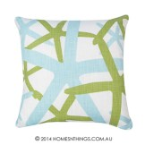 Rapee Starfish Lime Cushion
