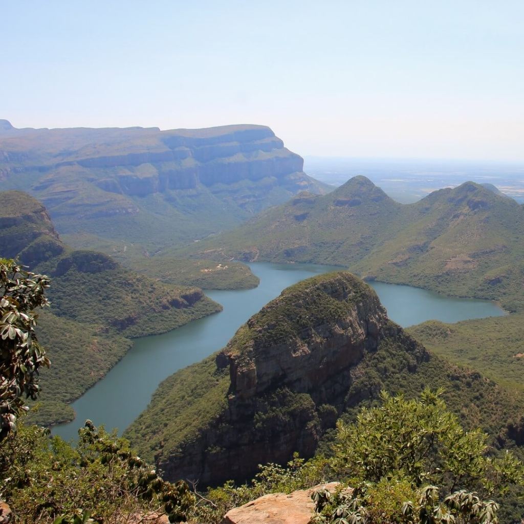 Blyde River Canyon Panorama Route in South Africa