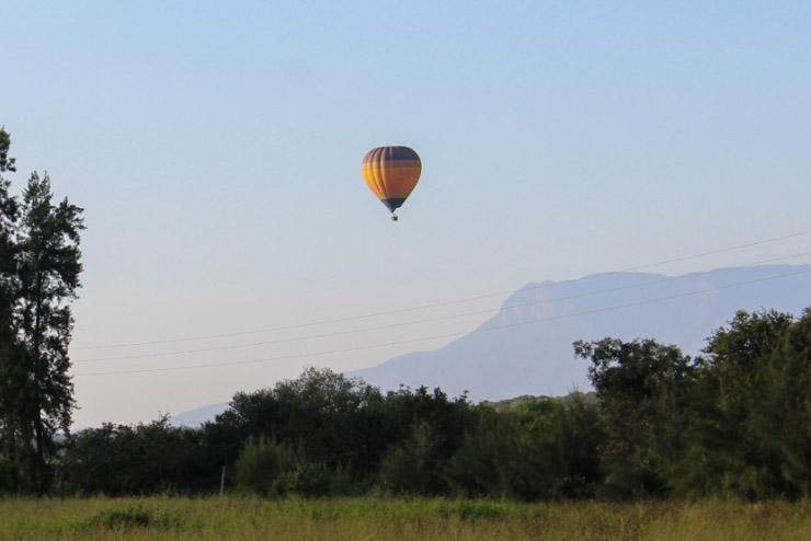 Ballonfahrt - Südafrika