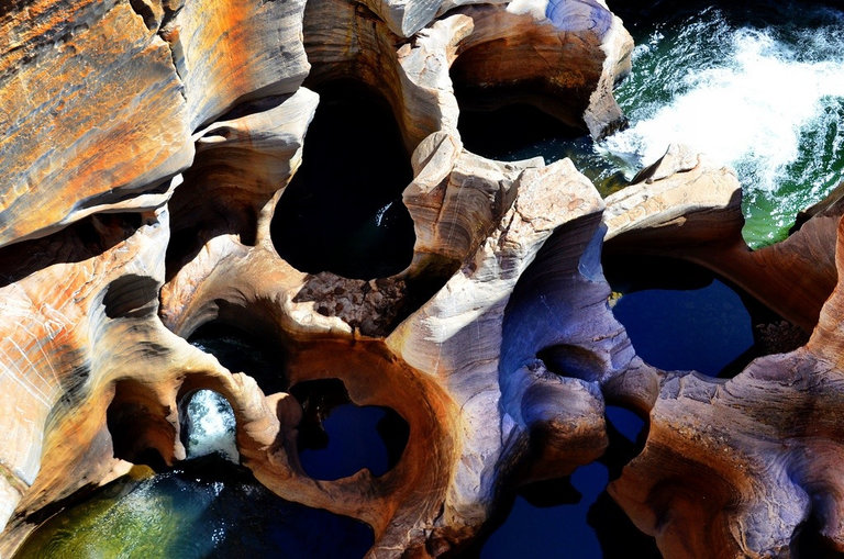 Bourkes Luck Potholes - Panoramaroute - Zuid-Afrika