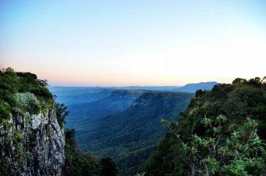 God's Window aan de panoramaroute in Zuid-Afrika