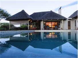 Villa beim Kruger National Park in Suedafrika