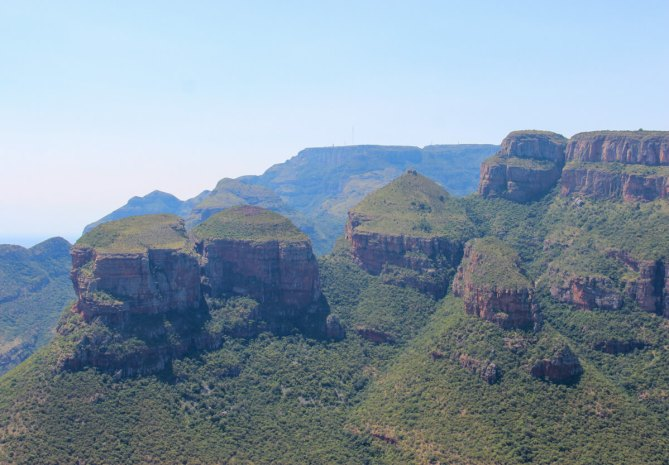 Three Rondavels - Blyde River Canyon - Zuid-Afrika