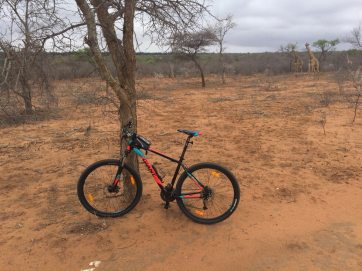 Mountainbiken in Zuid-Afrika