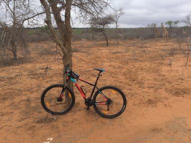 Mountainbiken in Zuid-Afrika