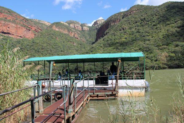 Blyde Dam Boottrip - Blyde River Canyon - Zuid Afrika