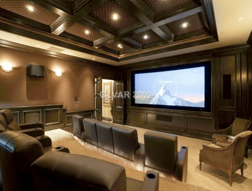 Las Vegas Mansion with Incredible Indoor Basketball Court