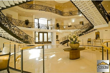 Newly Built Studio City Mansion With Huge 3Story Foyer  Homes of the Rich