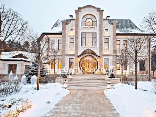 25 Million Villa In Russia  Homes of the Rich