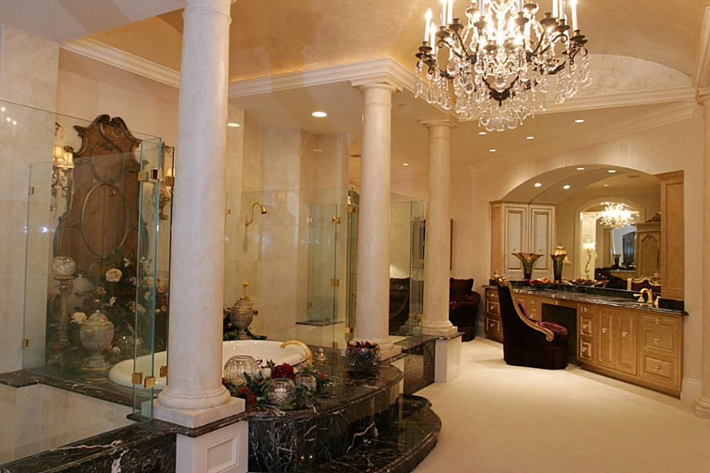 19 Million 30000 Square Foot Mega Mansion In The Woodlands TX  Homes of the Rich