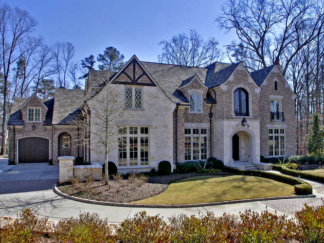 Traditional European Style Mansion In Suwanee GA  Homes of the Rich