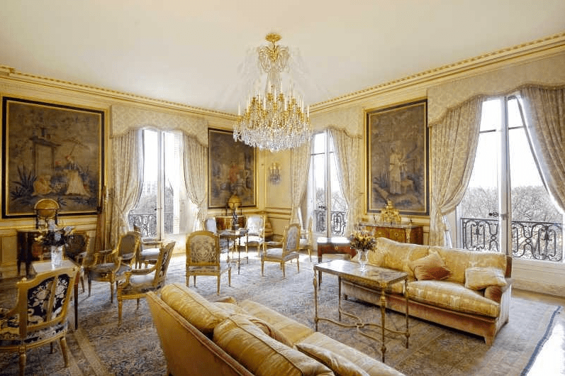 Lavish Avenue Foch Apartment In Paris  Homes of the Rich