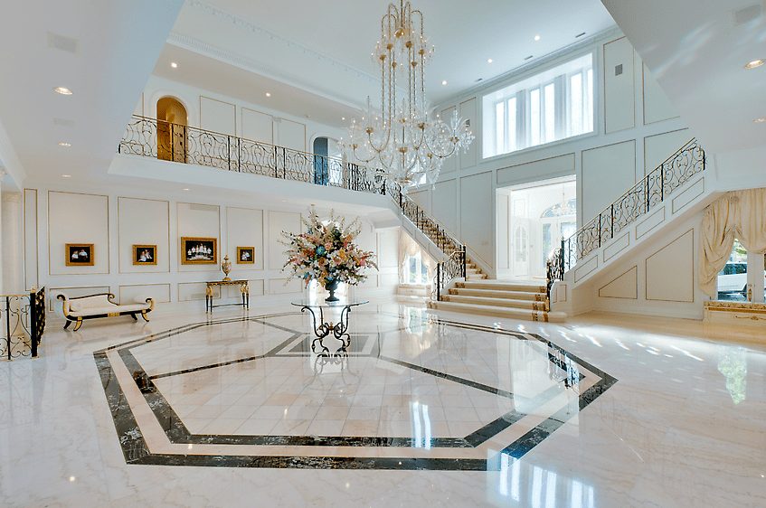 Stately 15000 Square Foot Mansion In Torontos Bridle Path  Homes of the Rich