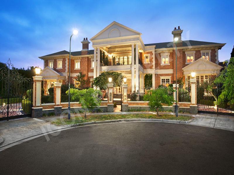 Stunning Brick Mansion In Victoria Australia Homes Of