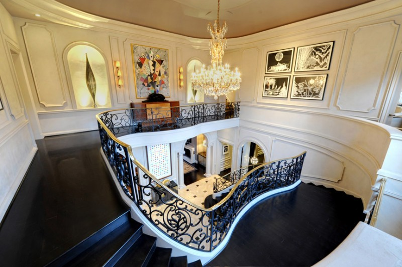17000 Square Foot French Provincial Mansion In Atlanta