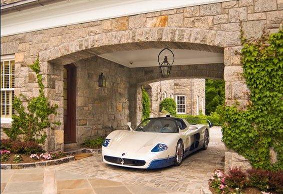 Lavish Stone Mansion In Alpine Nj Homes Of The Rich