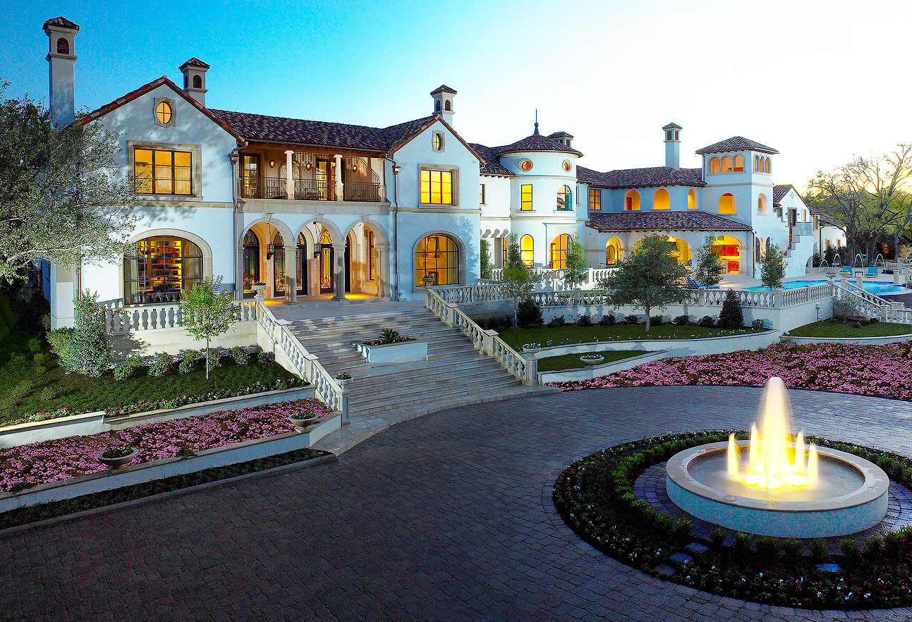 Thomas Dundons Newly Built Dallas Mega Estate  Homes of the Rich