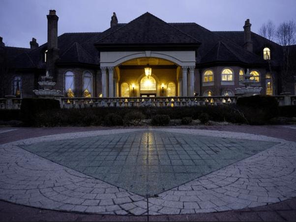 50000 Square Foot Ohio Mega Mansion Featuerd On HGTVs