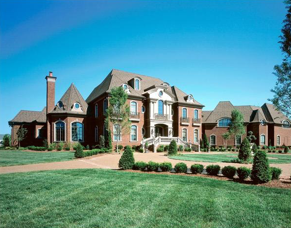 14000 Square Foot Traditional Mansion In Brentwood TN Homes Of The Rich