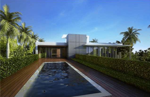 Proposed 32 Million Modern Mansion On Miami Beachs Star
