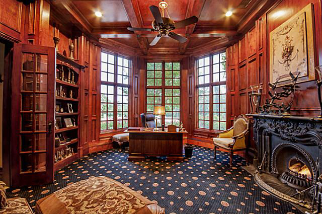 11000 Square Foot English Style Stone Mansion In Flower
