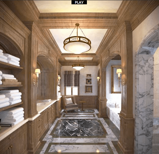 Renderings Of Mark Wahlbergs 34000 Square Foot Beverly Park Mega Mansion  Homes of the Rich
