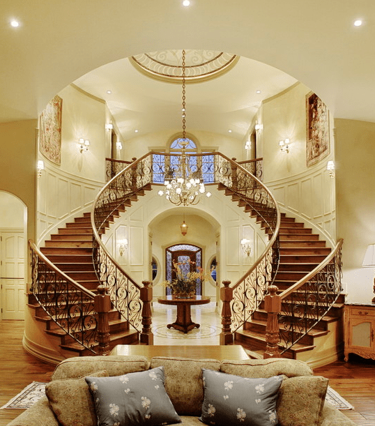 A Look At Some Beautiful Staircases  Homes of the Rich